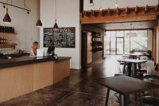 Va Piano's Old Mill District Tasting Room(Source: Olin Architecture)