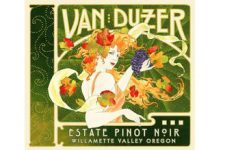 The Greek god Zephyr graces every bottle of Van Duzer Vineyards' wine.(Source: Van Duzer Vineyards)